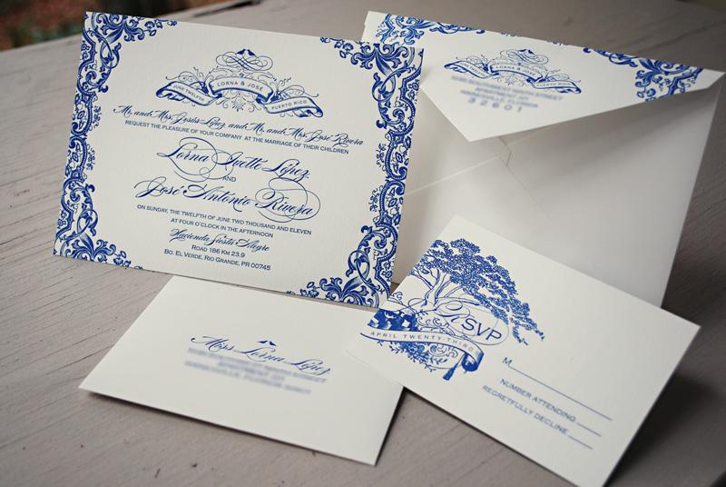 800x536 Gorgeous Puerto Rico Wedding Invitations Leslie Vega Design