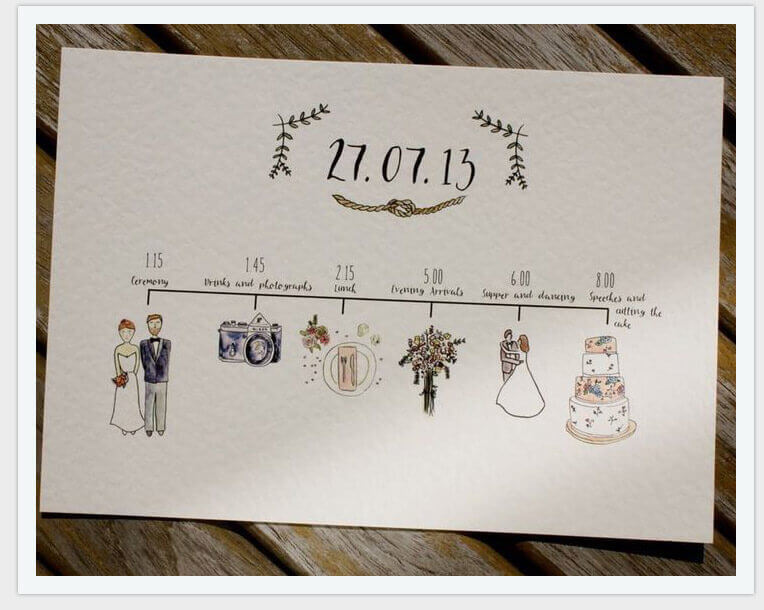 764x610 Share Some Different Wedding Invitation