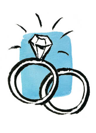 327x450 Engagement Ring Drawing 14 Engagement Rings Engagement