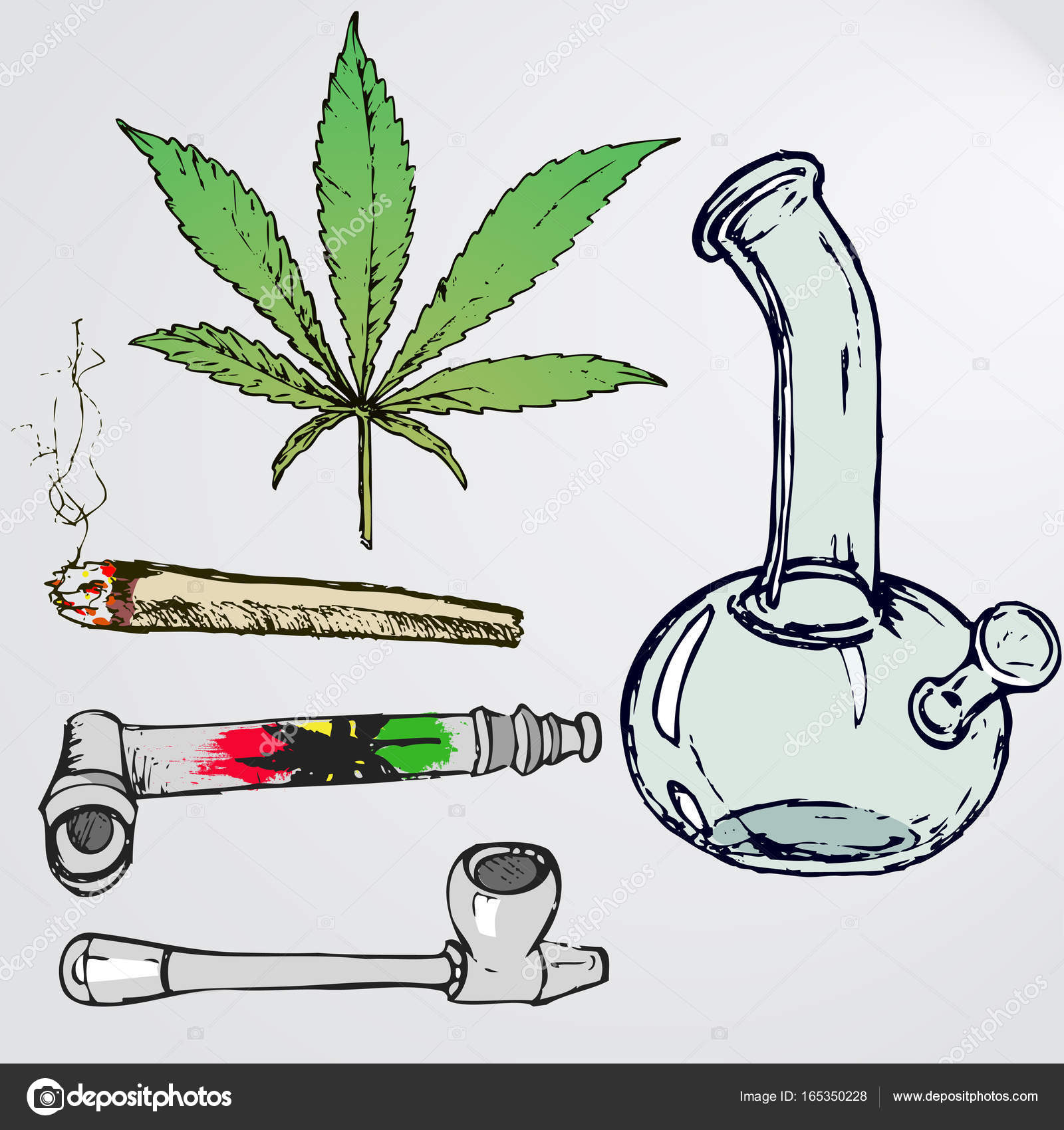 Weed Joint Drawing at GetDrawings.com | Free for personal ...
