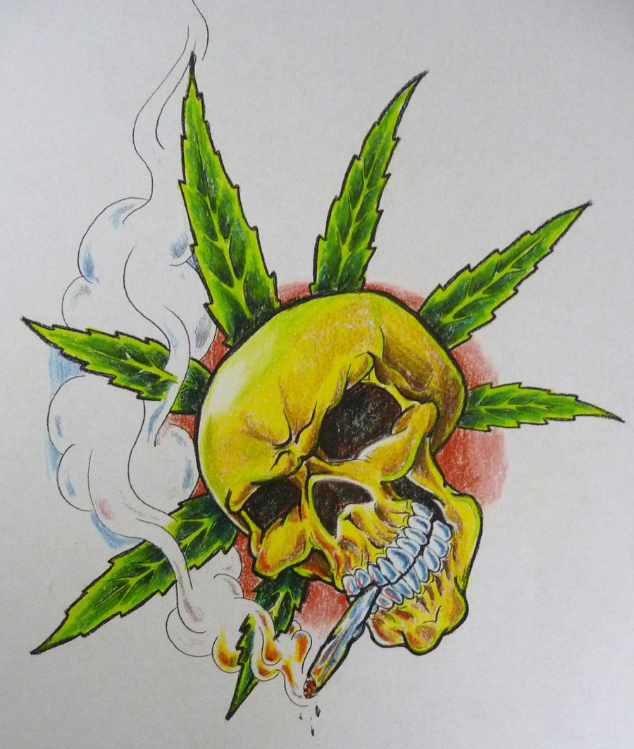 Weed Leaves Drawing at GetDrawings.com | Free for personal use Weed ...