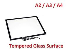 236x168 A2 A3 A4 Tempered Glass Led Copy Board Scale Drawing Tracing Light