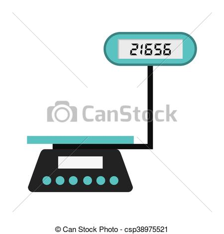 450x470 Balance Scale Weight Measure Icon Vector Illustration Design