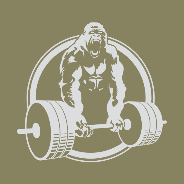 630x630 Gorilla Lifting Gym Fitness Weightlifting Crossfit