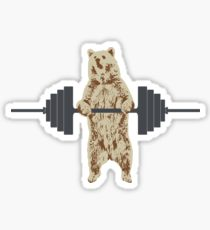 210x230 Weightlifting Drawing Stickers Redbubble