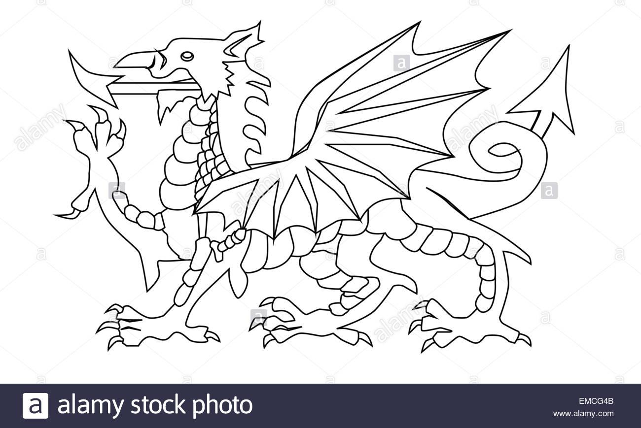 Welsh Dragon Drawing At Getdrawings Free Download