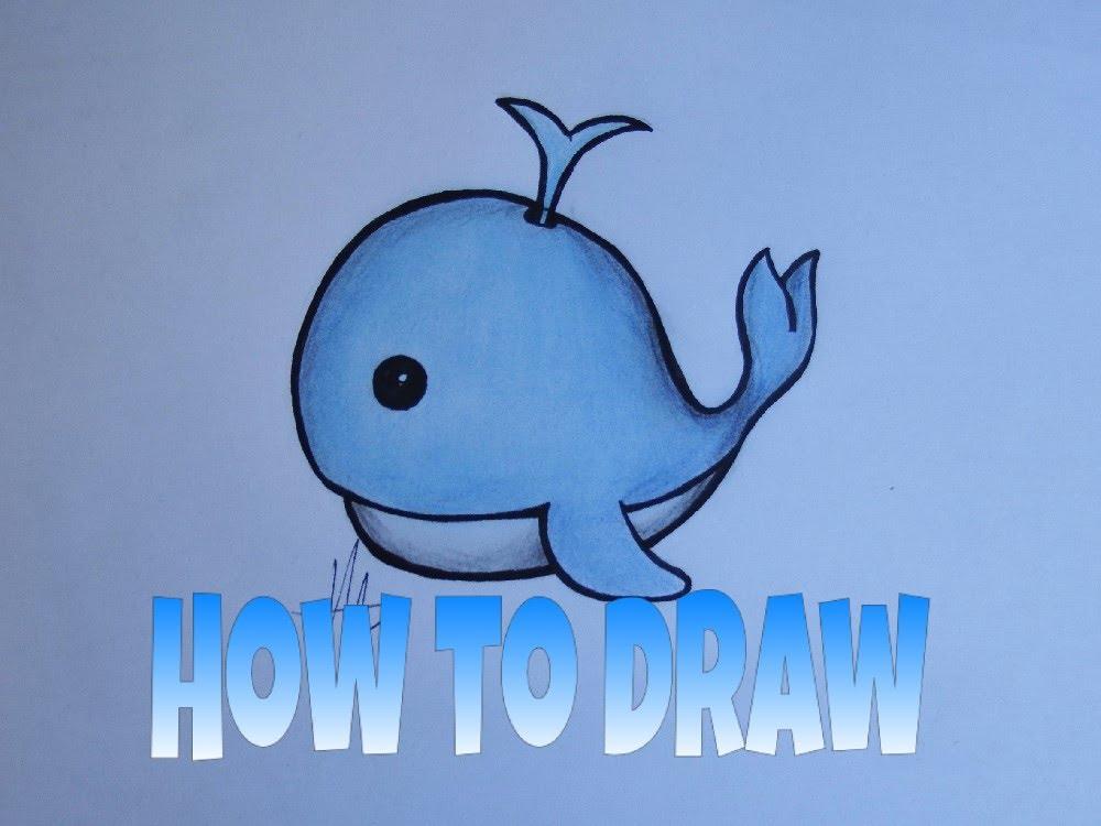 1000x750 How To Draw Emojis Whale