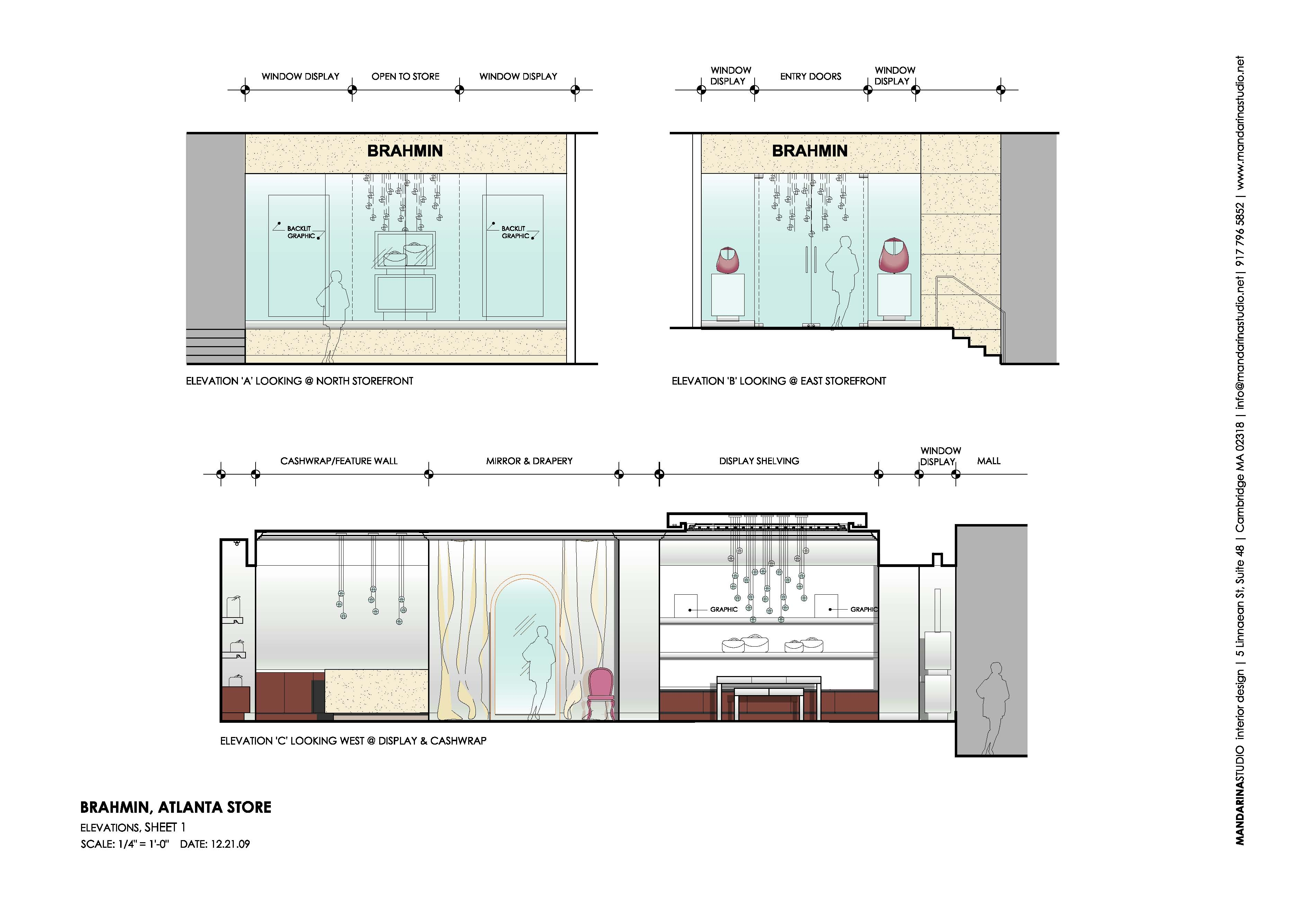 3800x2600 Elevation Plan Of Interior Design Section Examples