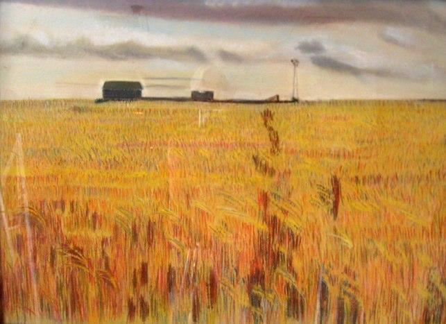 643x467 Wheat Field Drawing Pic Gt Ltbgtdrawing Wheat Fieldsltgt Art How