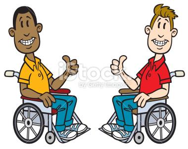 380x300 Cartoon Old Men In Wheelchair Stock Illustration 14471930