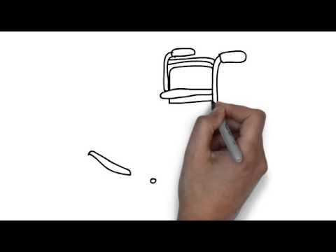 480x360 How To Draw Wheelchair