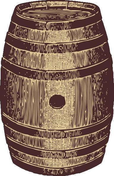 384x591 Wooden Barrel Clip Art
