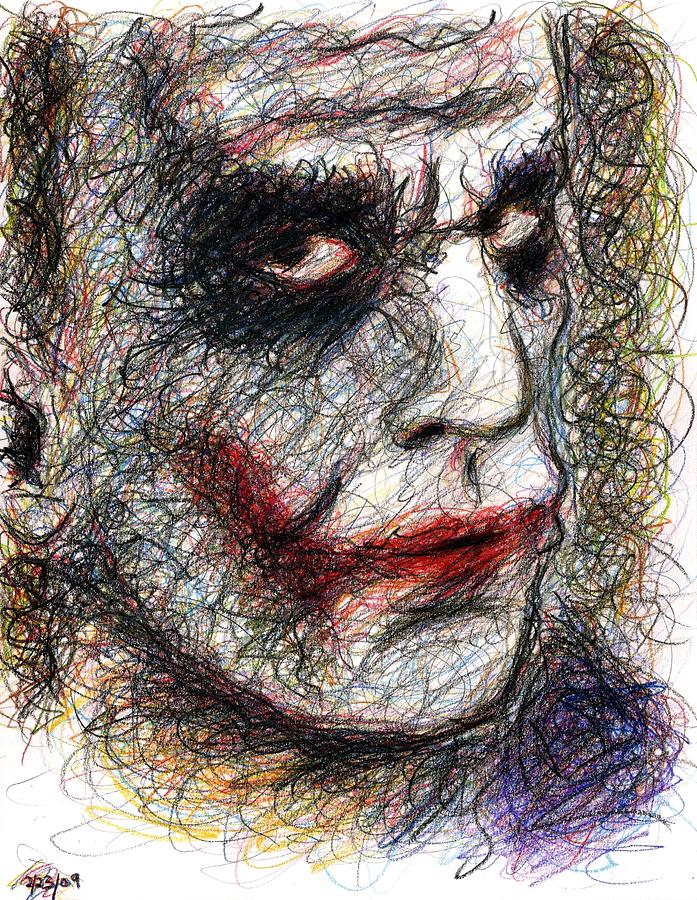 697x900 Why So Serious Drawings Fine Art America