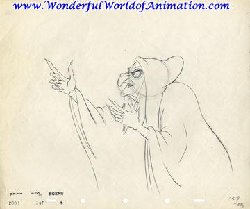 360x301 Disney Studios Production Drawing Animation Art Production Drawing