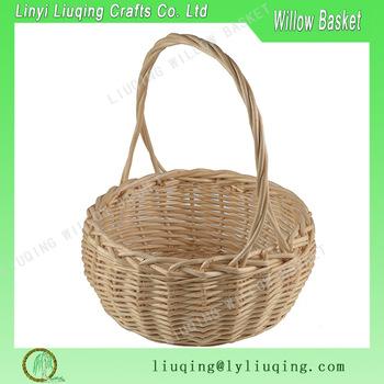 350x350 Handmade Round Natural Woven Fruit Basketfruit Basket Drawing