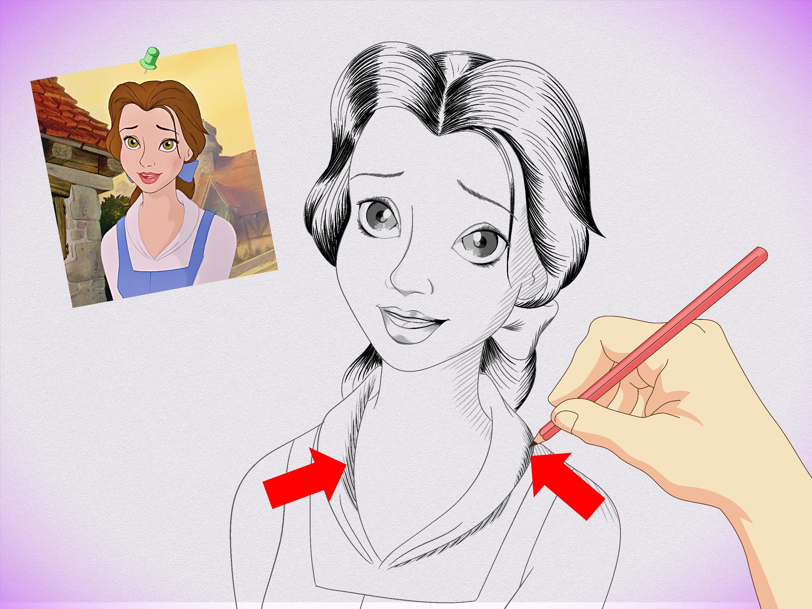 2800x2100 Drawing Disney Princesses