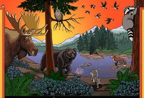 294x200 Wildlife Paintings Paintings Of Wildlife By Canadian Wildlife