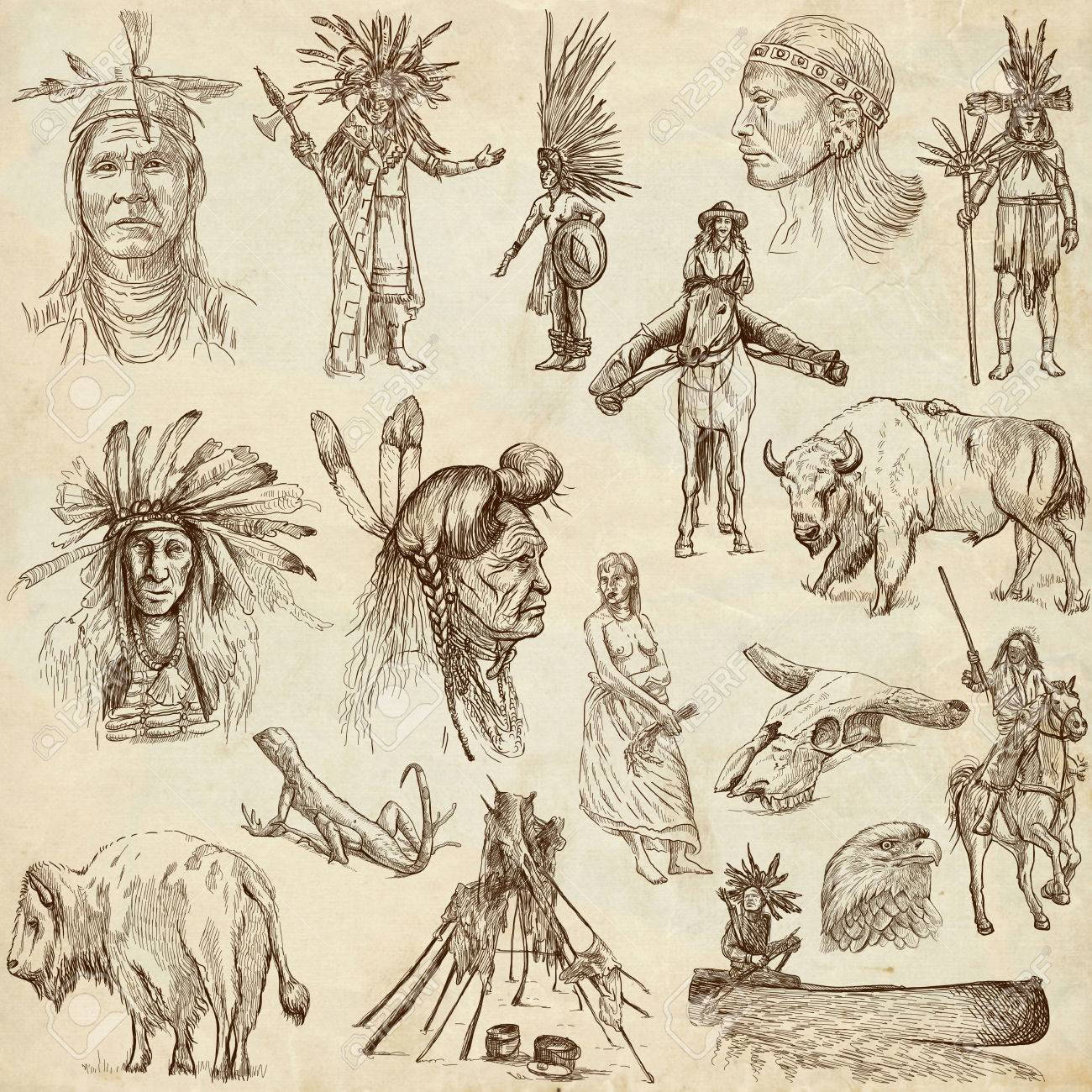 1300x1300 Indians And Wild West
