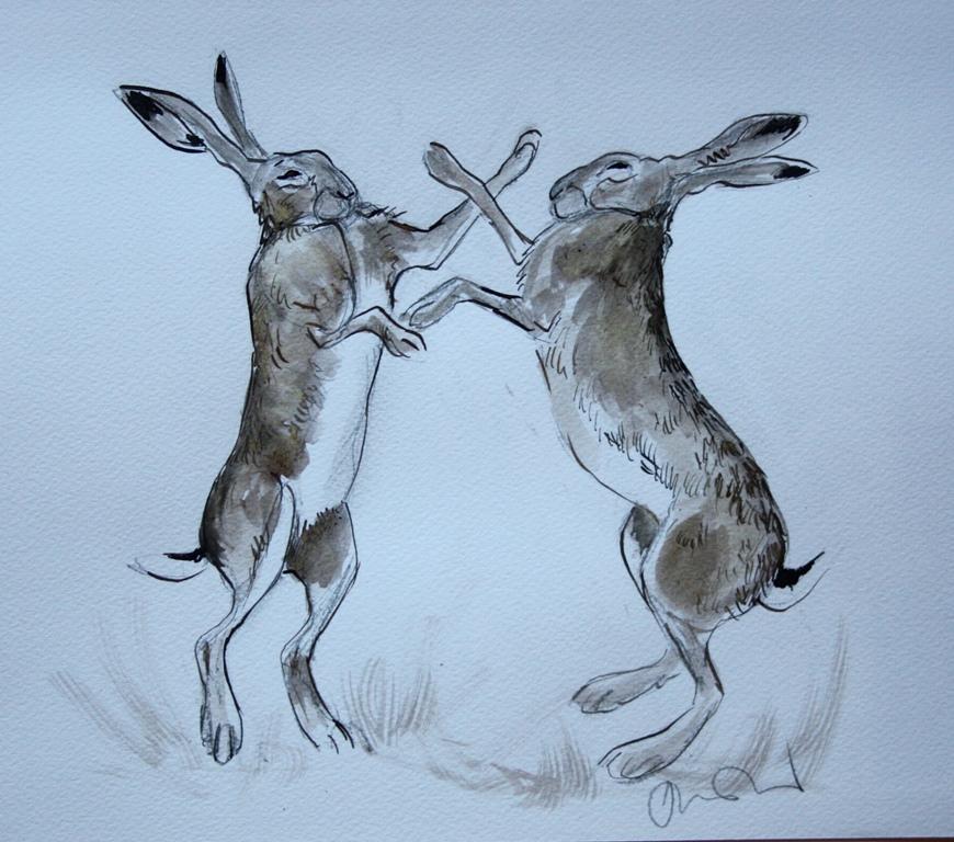 870x768 Book Lovers' Brown Hares Sketch Bonus! The Wildlife Trusts