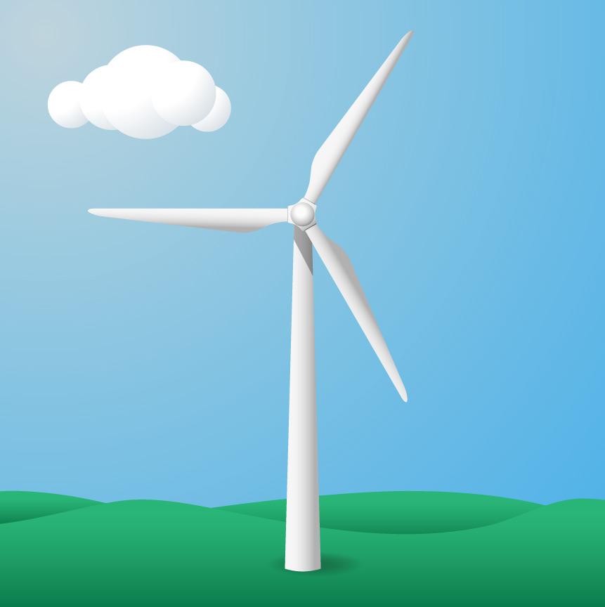 861x864 Illustrator Drawing Tutorial Create A Wind Turbine Icon