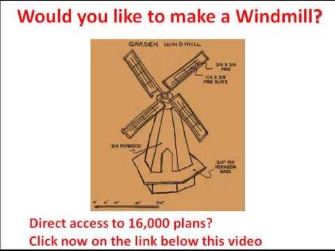 480x360 Windmill Model How To Make A Windmill Windmill Drawings Needed