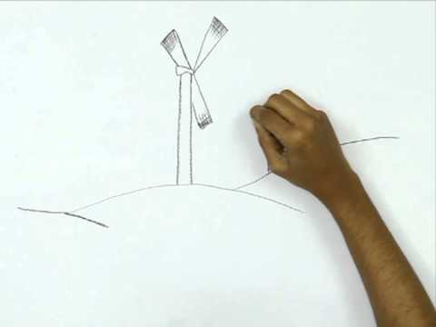 480x360 How To Draw A Wind Power