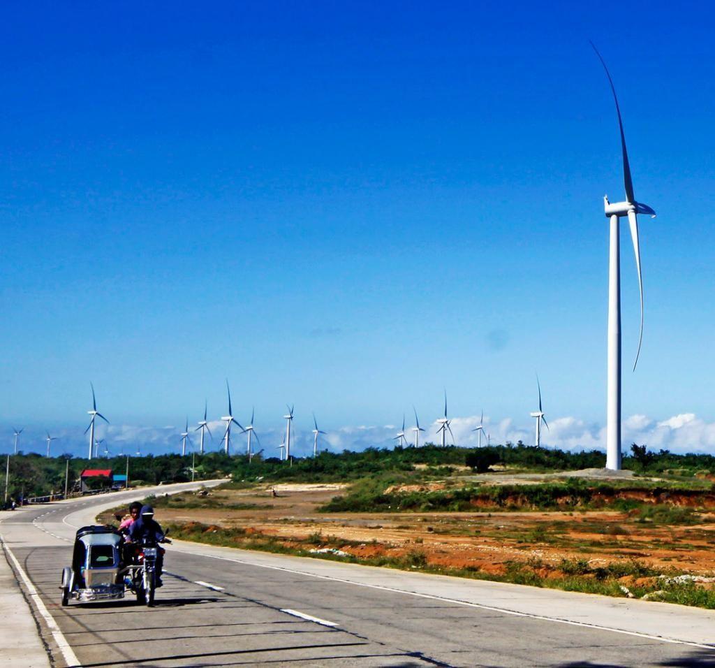 1024x956 Wind Farm Drawing Tourists To Rizal Wind Farms, Farming