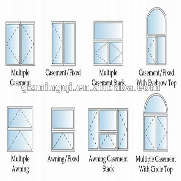 600x600 Casement Upvc Doors And Window Frames