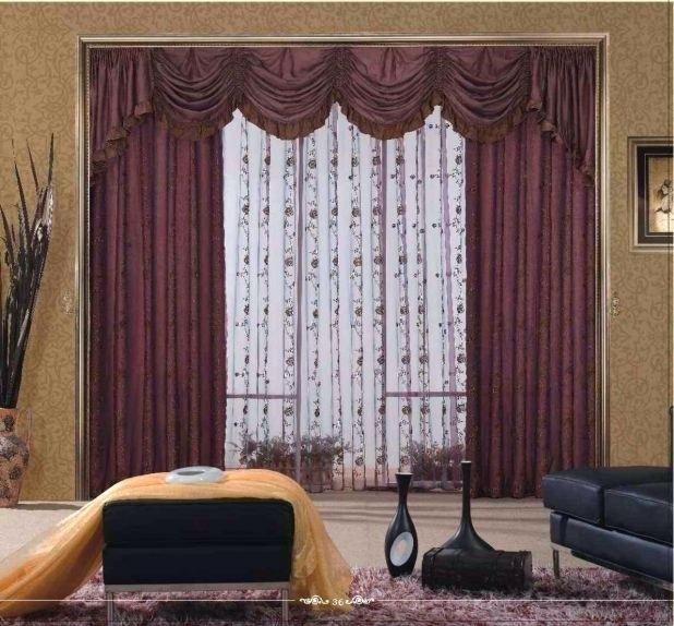 618x574 Drawing Room Curtains Outstanding Curtains Ideas For Large Windows