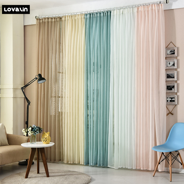 640x640 Lovalin Tulle Curtain 5 Colors Living Room Drawing Room Tulle Home