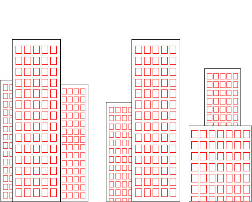 502x402 Drawing A Cartoon Building