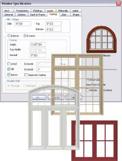 250x331 Wood Windows And Doors Design Software