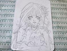 236x180 Art Drawing Tiger Flower Miyuki Miwase Artwork Art