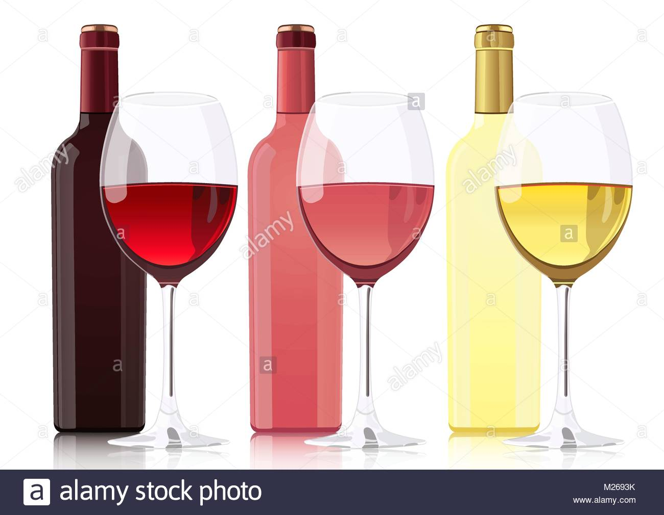 1300x1010 Set Of Bottles Of Different Types Of Wines. Bottle Of Red Wine