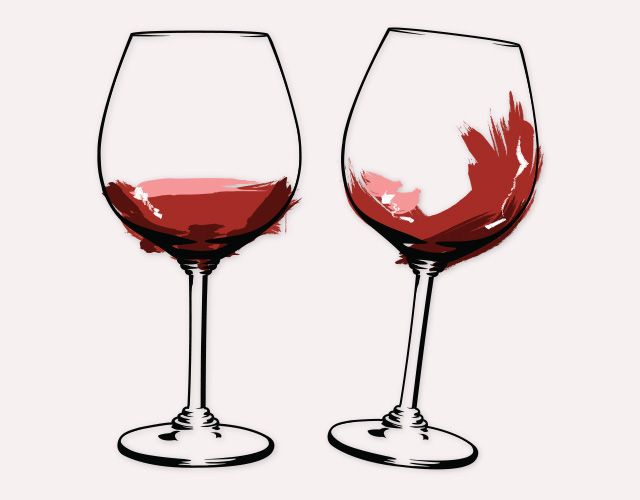 640x500 Wine Glass Vector