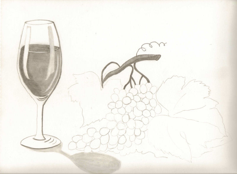 800x586 Wip Grapes And Wine Glass
