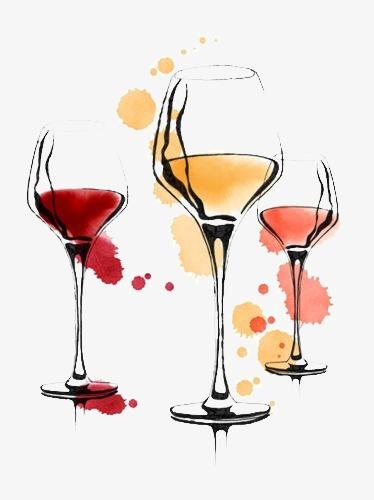 374x500 Wineglass, Creative Wine Glass, Cartoon Glasses, Drawing Glass Png