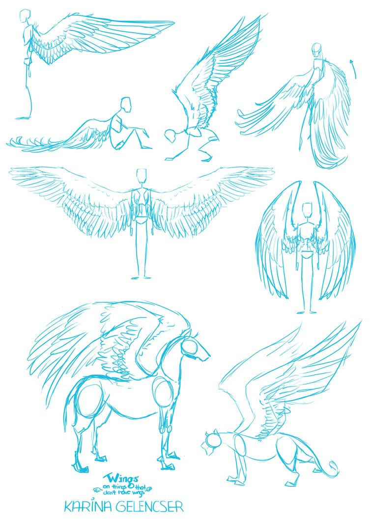 755x1057 Wings Things That Don'T Have Wings By Rdjpwns