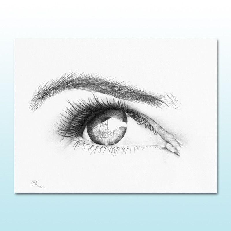 800x800 Hey, Hawthorne Print Right Eye Portland Art Products