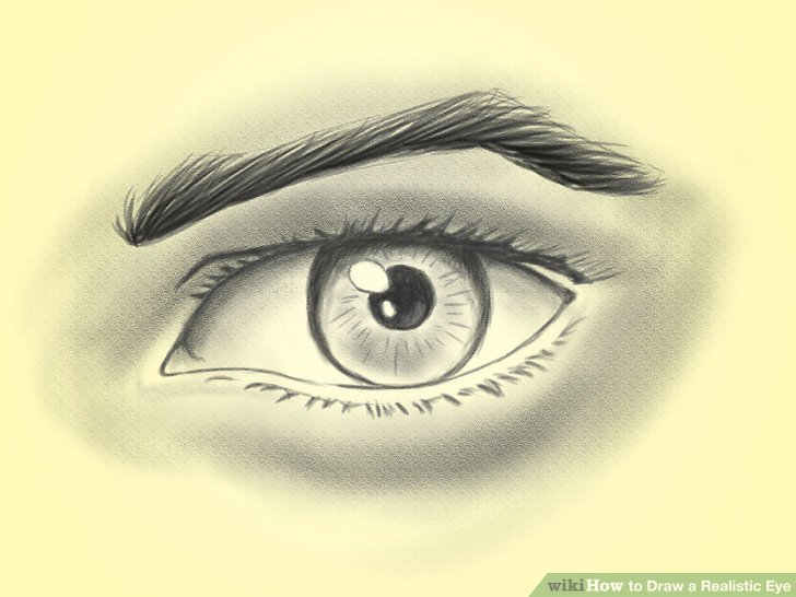 728x546 How To Draw A Realistic Eye 14 Steps (With Pictures)