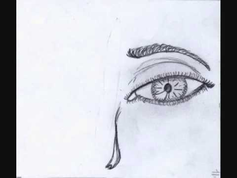 480x360 Hand Drawn Blinking Eye