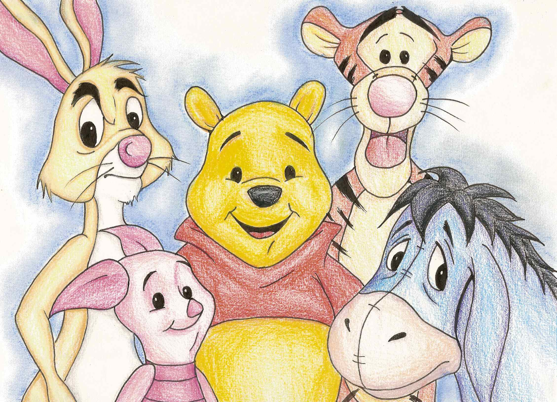 2258x1632 Winnie The Pooh Characters Represent Mental Disorders. Tiger Has