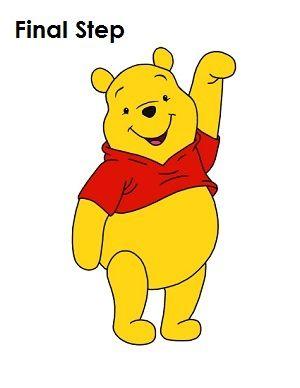 300x388 Draw Winnie The Pooh Step By Step Tutorial Winnie The Pooh