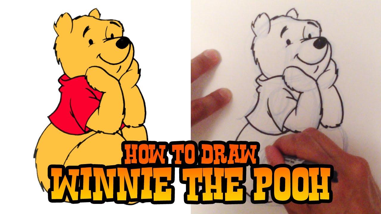 1280x720 How To Draw Winnie The Pooh