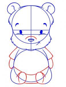 230x302 How To Draw How To Draw Baby Winnie The Pooh