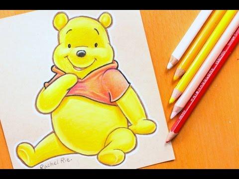 480x360 Speed Drawing Disney's Winnie The Pooh
