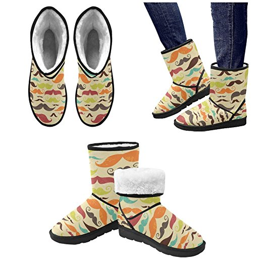 523x523 Artsadd Winter Boots Classic Drawing Colorful