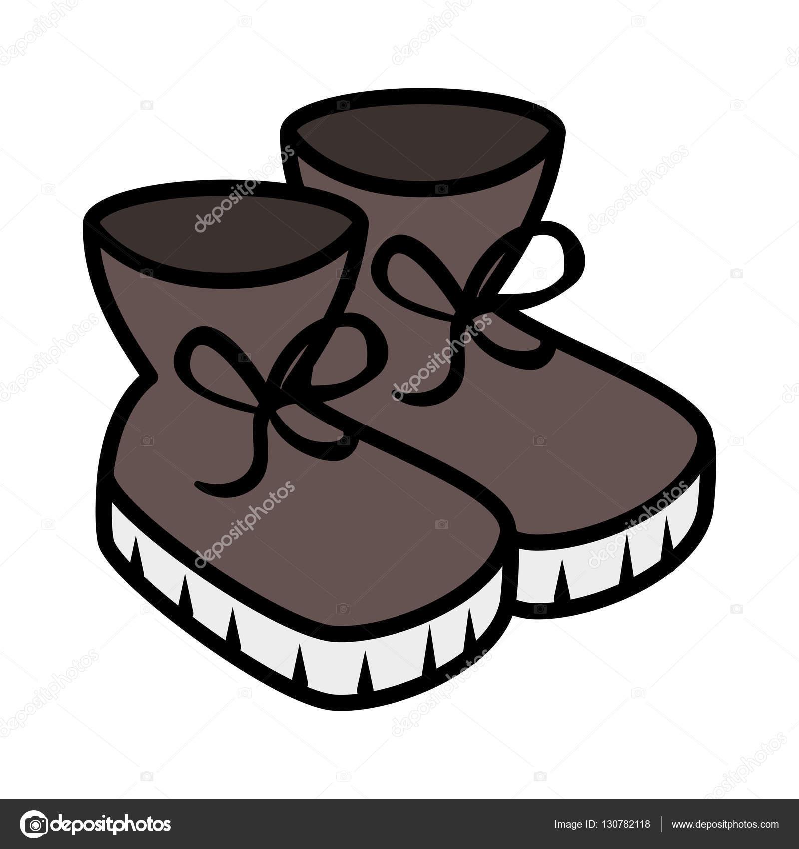 1600x1700 Winter Boots Shoes Icon Stock Vector Yupiramos