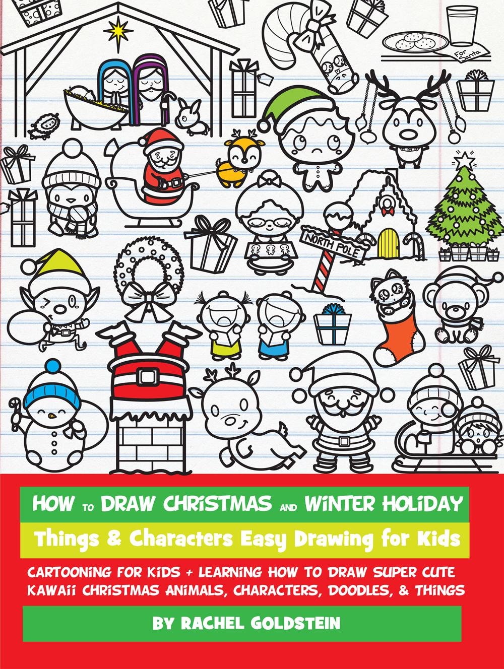 1000x1328 How To Draw Christmas And Winter Holiday Things Amp Characters Easy