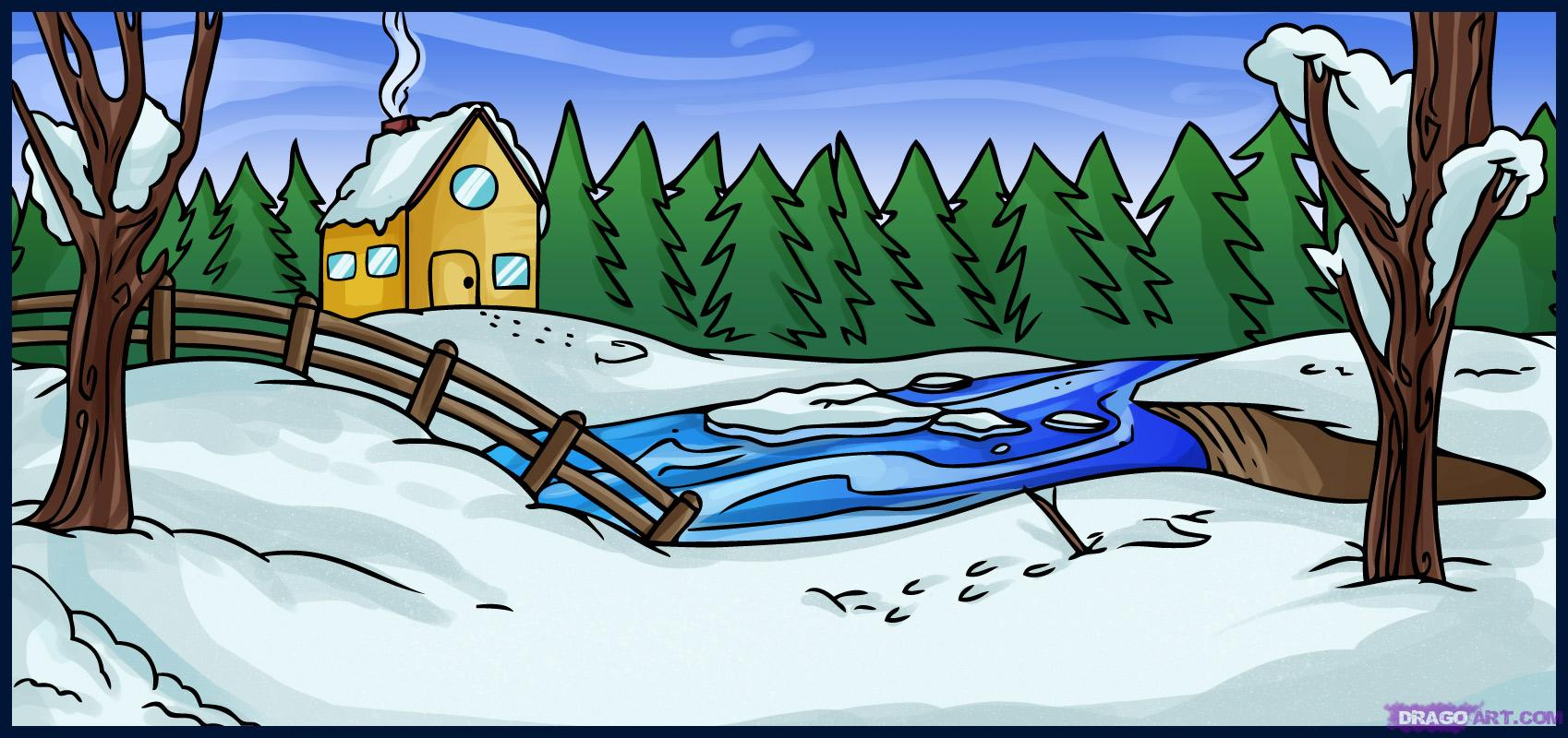 Winter Drawing Images at GetDrawings.com | Free for personal use ...